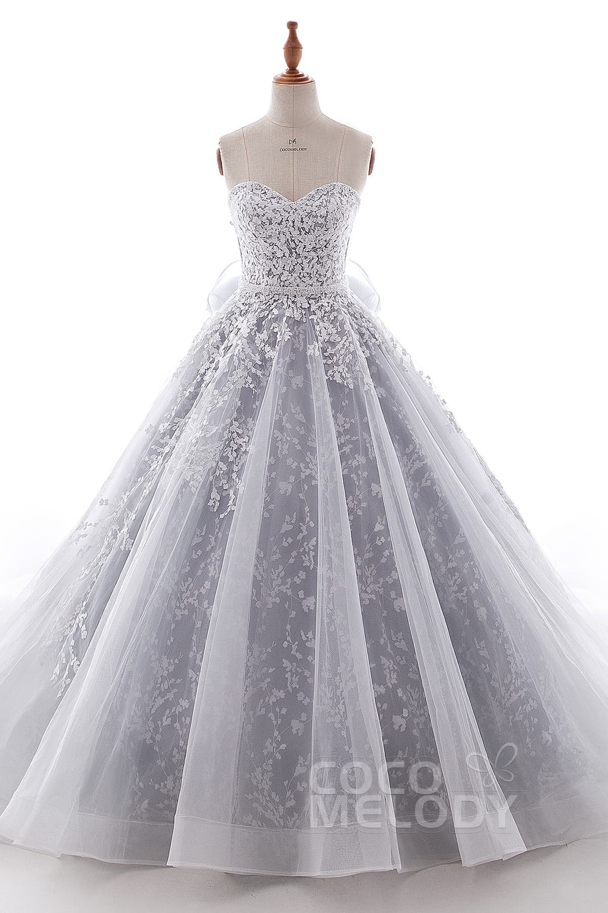 wedding dresses with corset photo - 1