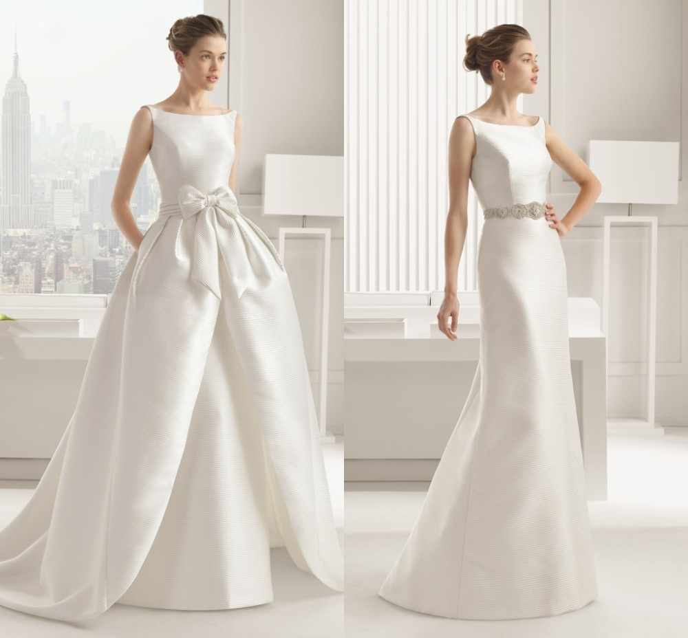 Traditional Wedding Gowns With Detachable Trains: Wedding Dresses With Detachable Trains