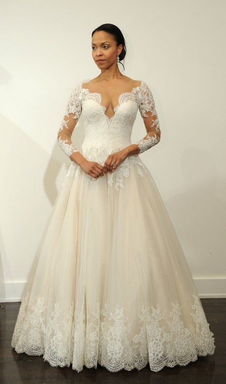 wedding dresses with sleeves 2017 photo - 1