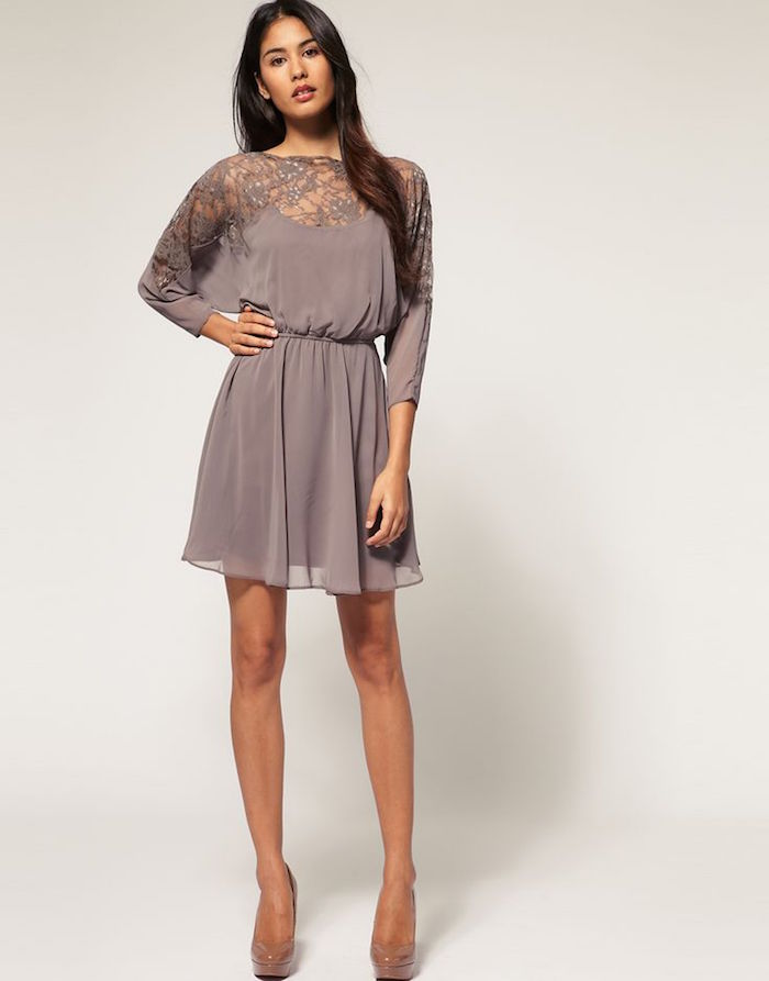 wedding guest dresses for fall photo - 1