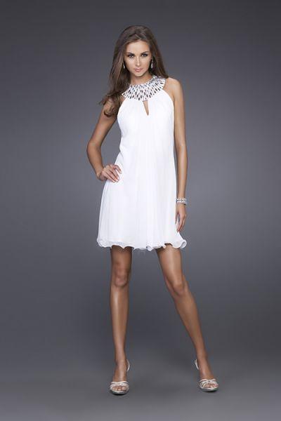 white evening dresses photo - 1