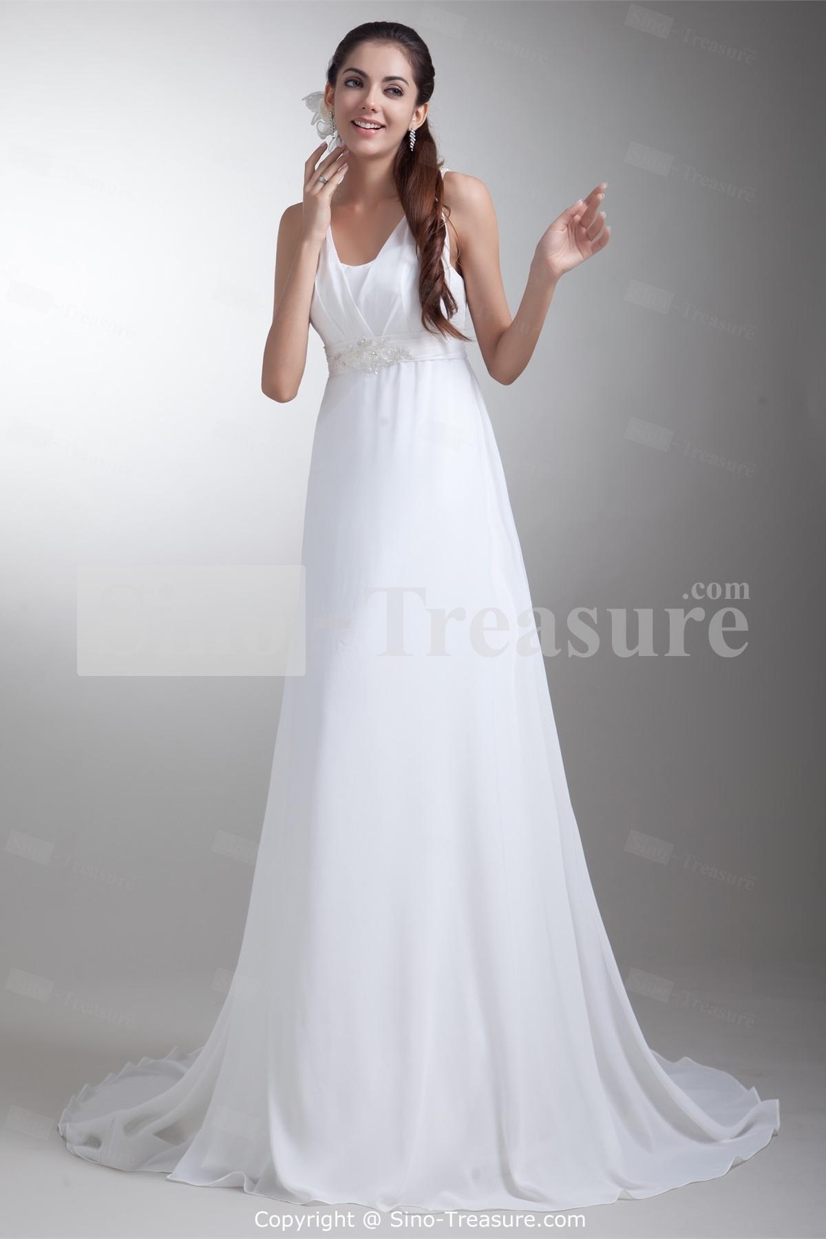 white summer wedding dresses photo - 1