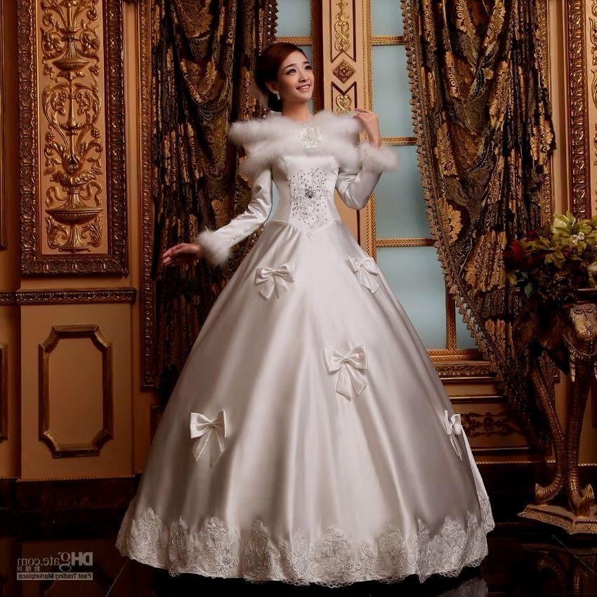 winter wonderland wedding dresses photo - 1