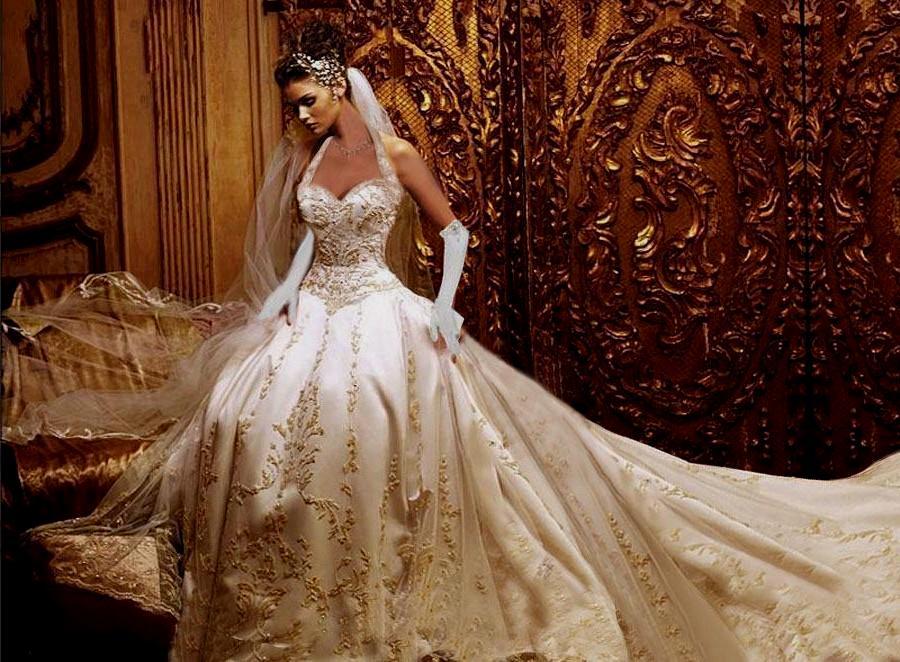 world most beautiful wedding dresses photo - 1