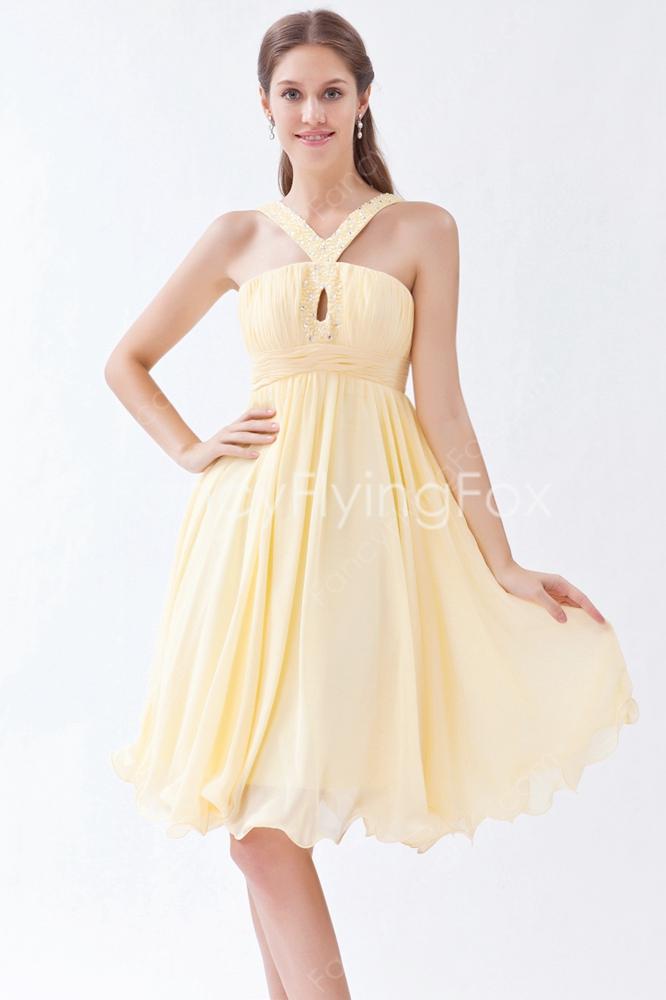 yellow wedding dresses for sale photo - 1